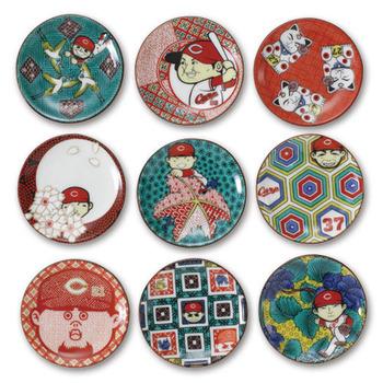選手ミニ豆皿(9枚セット)1