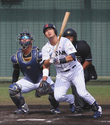 鈴木誠也日本代表73