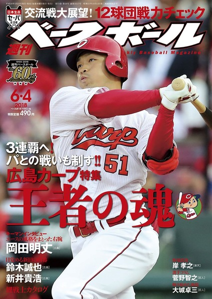 週刊ベースボール20180604_1