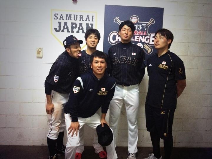 日本代表カープ4人
