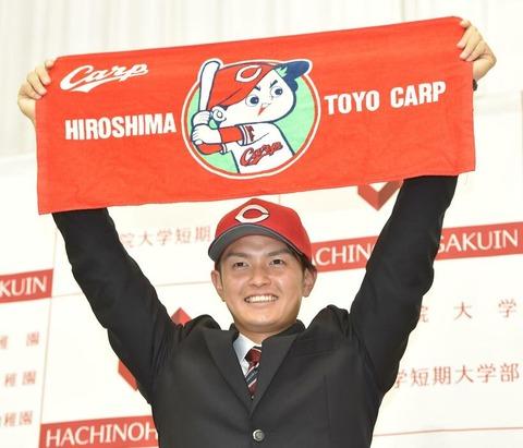 広島ドラ3大道温貴×高橋昂也、高校3年夏に埼玉準決勝で投げ合ったエース同士がカープでチームメイトに