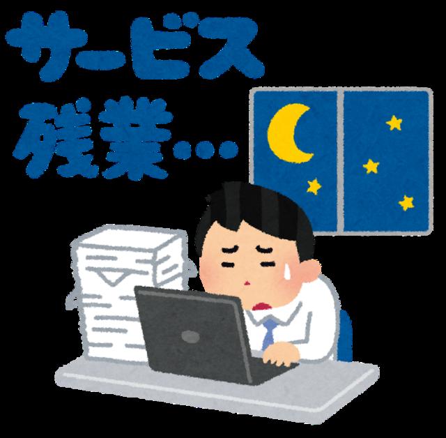 【悲報】残業60時間ワイの月給wwwwwwwww