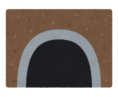【画像】めちゃくちゃ狭いトンネルが怖すぎる件wwww