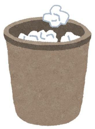 ゴミ箱へのコントロールがA以上のやつwwwww