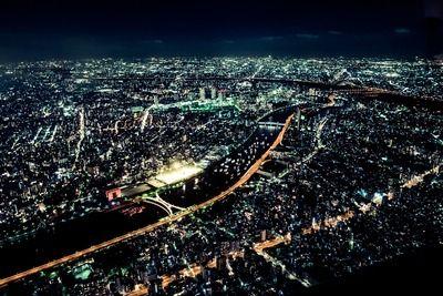 ワイの地元の夜景なんけどさ、関東でいうとどこレベル?