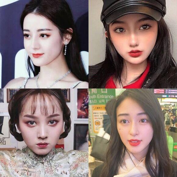 【朗報】若者女子に「中国メイク(チャイボーグ)」が大流行wwwwwwwww