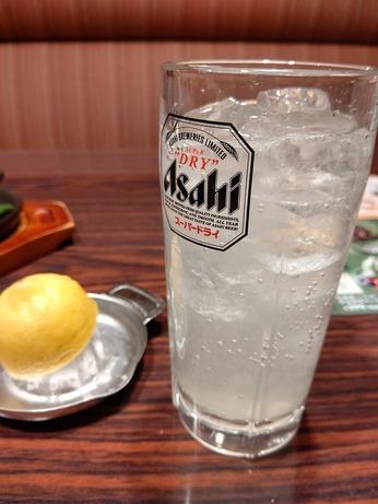生絞りレモンサワー