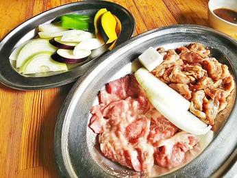 ラム&焼き野菜
