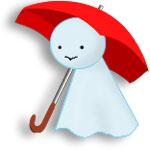にわか雨!