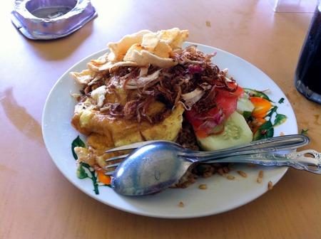 インドネシアのバタム島でナシ ...