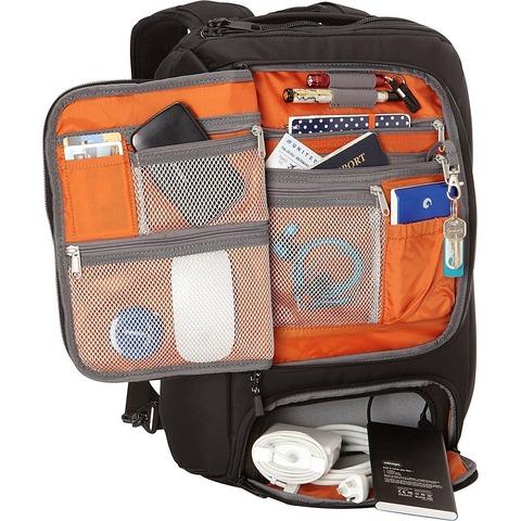eBags-Professional Slim Laptop Backpack_大収納