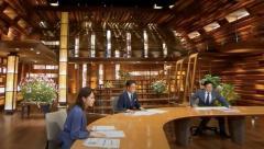 関東で震度5強の地震 報ステ生放送中 スタジオ大きく揺れて渡辺アナが腰浮かす