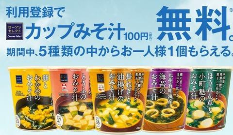 カップ味噌汁