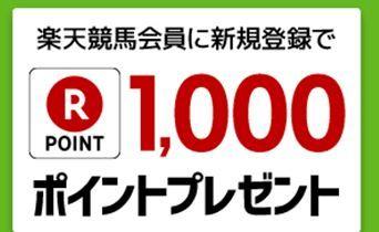 1000楽天ポイント