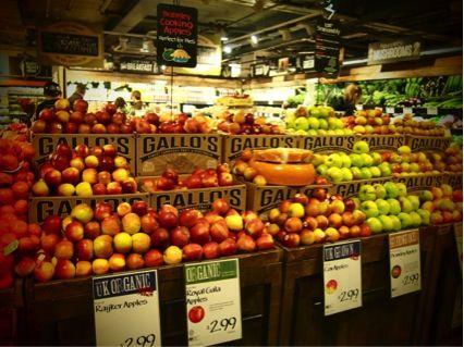 ロンドンのスーパーマーケット