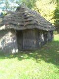 古式アイヌ住居「チセ」