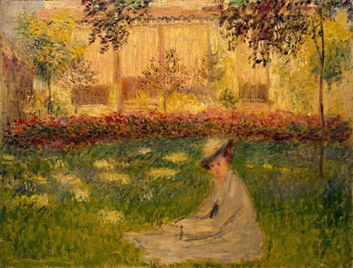 Woman in a Garden1876