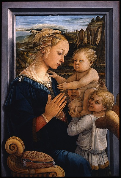 Madonna and Child (Lippina)1450