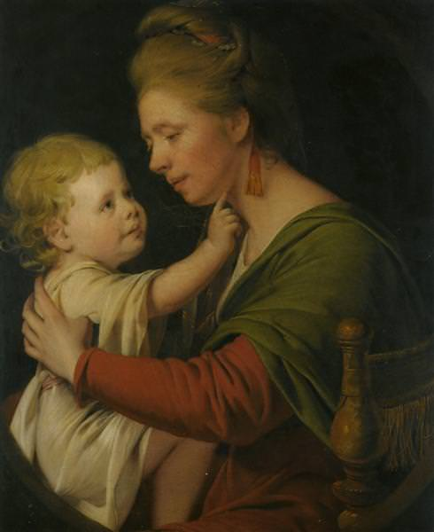 Jane Darwin and her son William Brown Darwin