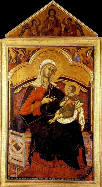 Enthroned Madonna of Guido of Siena, c. 1270-80