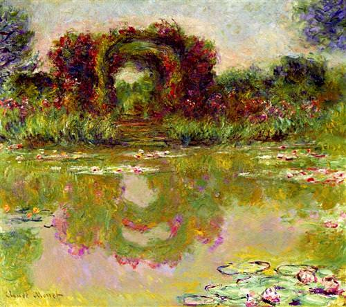 Rose Arches at Giverny1913