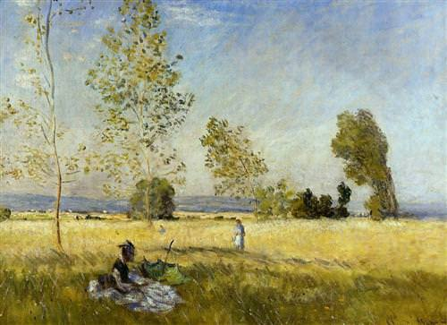 Meadow at Bezons1874
