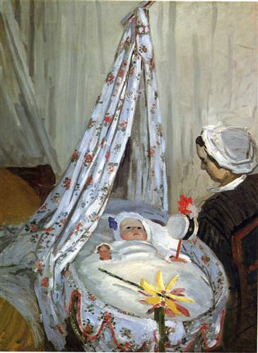 Jean Monet in the Craddle1867