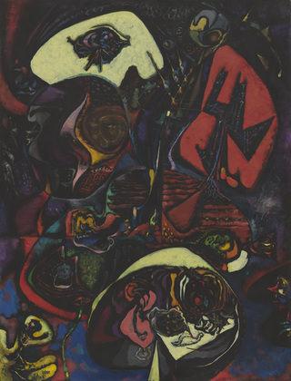 1943Meditation of the Painter