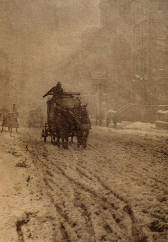 Winter Fifth Avenue, New York, 1892
