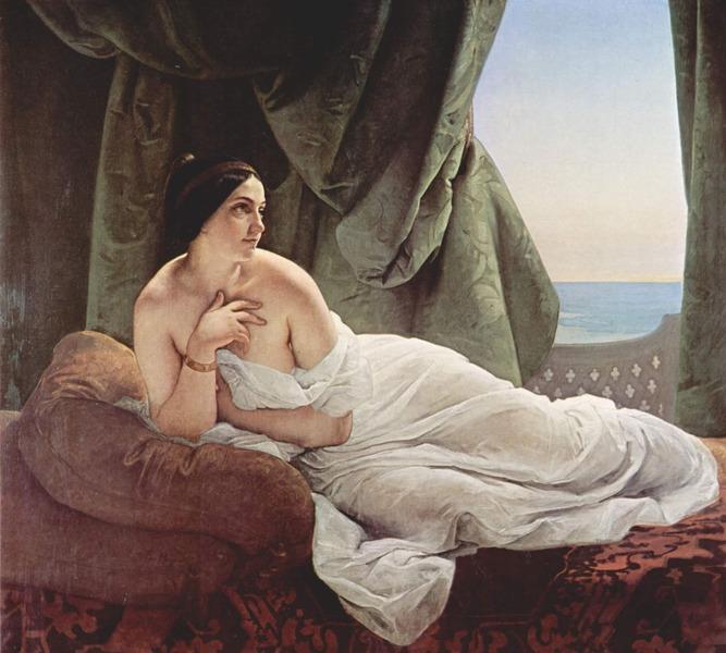 Reclining Odalisque (1839)