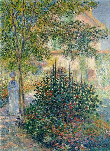 Camille Monet in the Garden at the House in Argenteuil1876