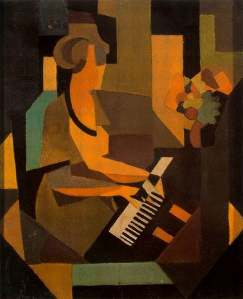 1923 Georgette at the Piano