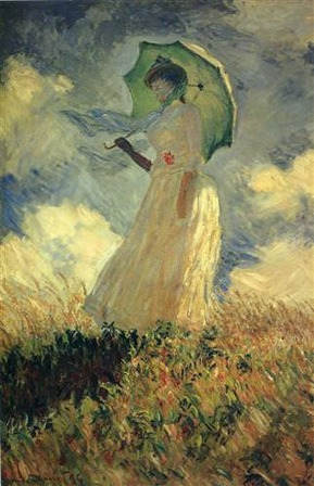 Woman with a Parasol 1886
