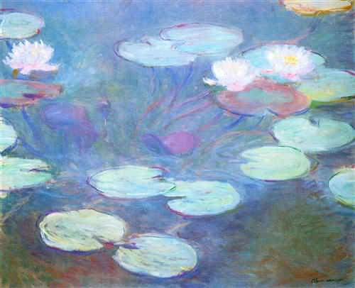 Water Lilies, Pink1899