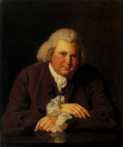 Portrait of Dr Erasmus Darwin