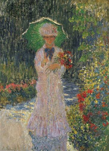Camille with Green Parasol1876