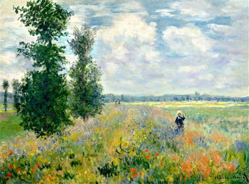 Poppy Field, Argenteuil1875