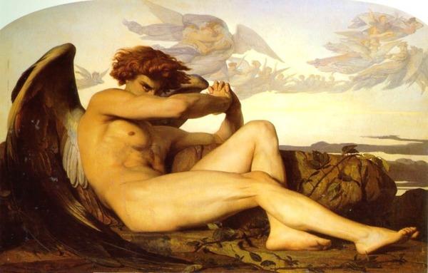 The Fallen Angel by Alexandre Cabanel (1847)
