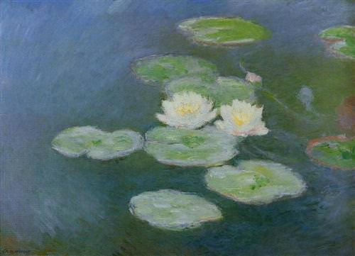 Water Lilies, Evening Effect1899