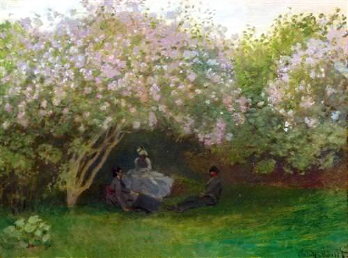 Lilacs, Grey Weather1873