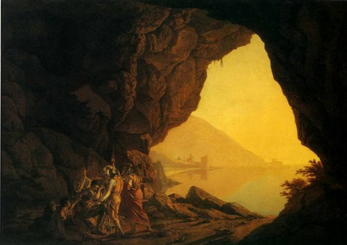 A Grotto in the Kingdom of Naples
