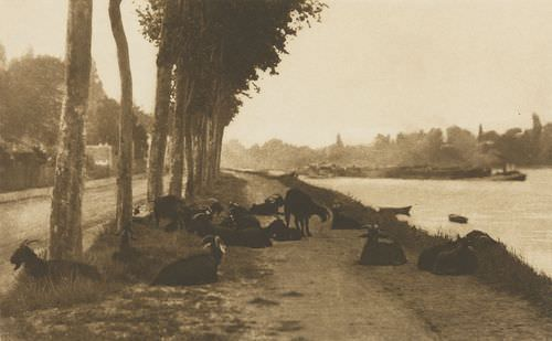 On the Seine, near Paris