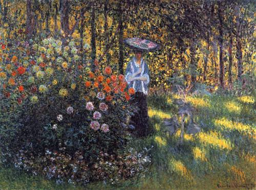 Woman with a Parasol in the Garden in Argenteuil1875
