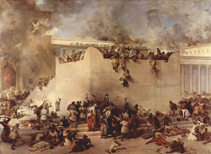 Destruction of Temple of Jerusalem (1867)