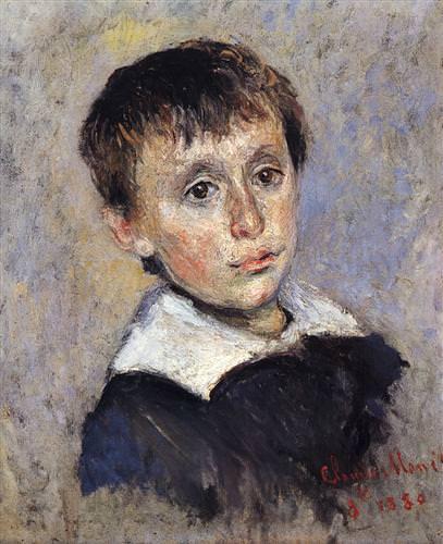 Portrait of Jean Monet1880