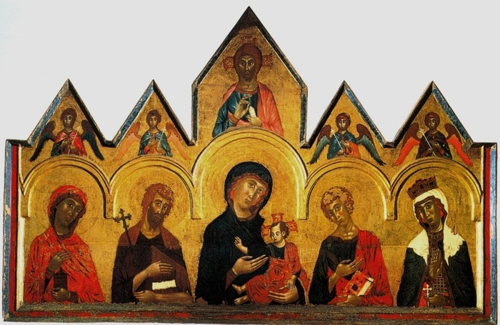 Vigoroso da Siena's altarpiece from 1291