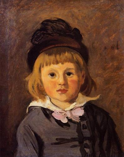 Portrait of Jean Monet1869