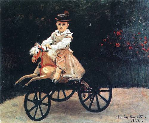 Jean Monet on a Mechanical Horse1872