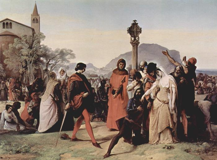 Sicilian Vespers scene 3 (1821–22)
