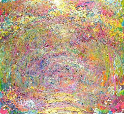Path under the Rose Trellises1924